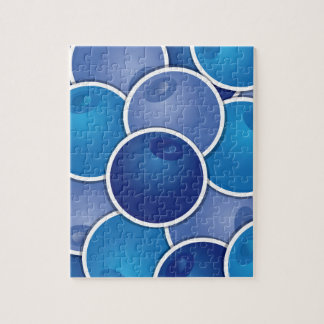 Funky blueberry puzzle