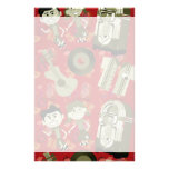 funky bold fifties stationery paper
