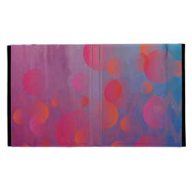 Funky Bold Fire and Ice Geometric Grunge Design iPad Cases