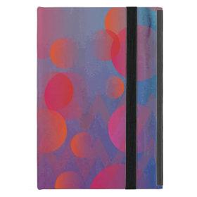 Funky Bold Fire and Ice Geometric Grunge Design iPad Mini Case