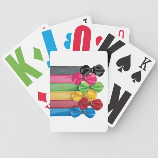 Funky Bows & Jewels Deck of Playing Cards