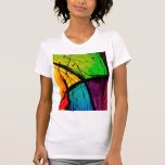 Funky Bright Abstract Art Painting T Shirt
