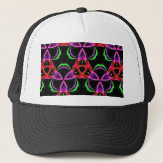 Funky Bright Neon Colors Seamless Pattern Trucker Hat