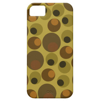 Funky Brown dots iPhone SE/5/5s Case