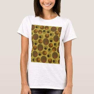 Funky Brown dots T-Shirt