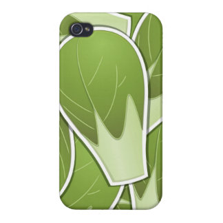 Funky brussel sprout case for iPhone 4