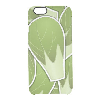 Funky brussel sprout clear iPhone 6/6S case