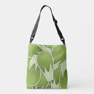Funky brussel sprout crossbody bag