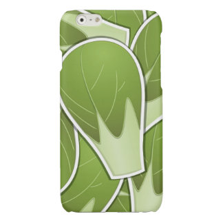 Funky brussel sprout glossy iPhone 6 case