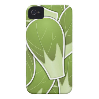 Funky brussel sprout iPhone 4 Case-Mate case