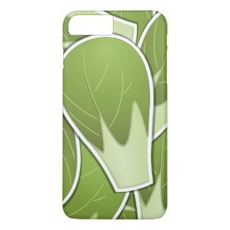 Funky brussel sprout iPhone 8 plus/7 plus case