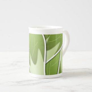 Funky brussel sprout tea cup