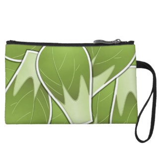 Funky brussel sprout wristlet