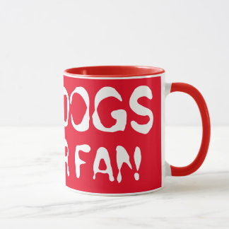 Funky Bulldogs Super Fan! Mug