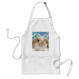 Funky Bunny Adult Apron