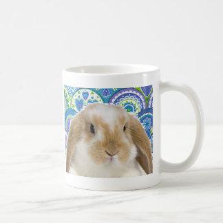 Funky Bunny Classic White Coffee Mug