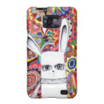 Funky Bunny Cute Colorful Samsung Galaxy S2 Case