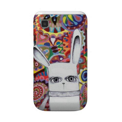 Funky Bunny Cute Colorful Samsung Galaxy S Case casematecase