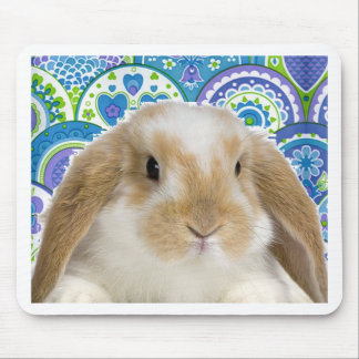 Funky Bunny Mouse Pad