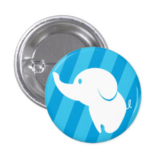 Funky button to personalize for kids