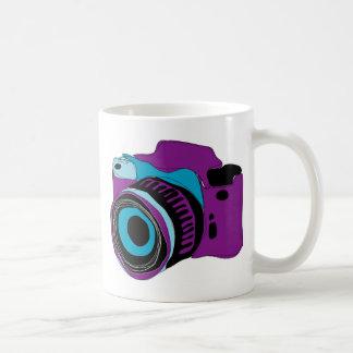 Funky camera graphic illustration coffee mug