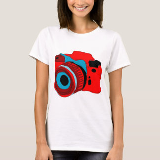Funky camera graphic illustration T-Shirt