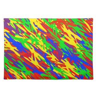 Funky Camouflage American MoJo Placemat