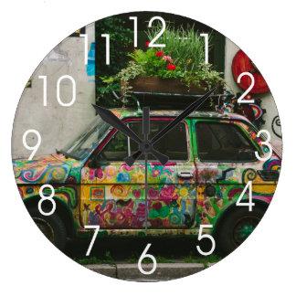 Funky Car Clocks