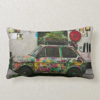 Funky Car Throw Pillows