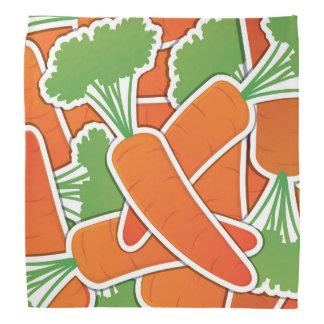 Funky carrot bandana