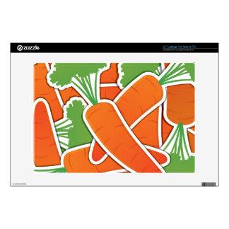 "Funky carrots! 13"" laptop skins"