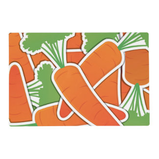 Funky carrots! placemat