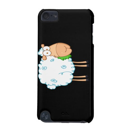 funky cartoon white sheep iPod touch 5G cover