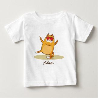 Funky Cat baby fine jersey tshirt