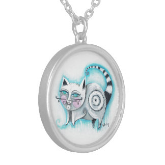 Funky Cat Necklace