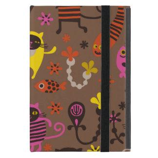 Funky cats case for iPad mini
