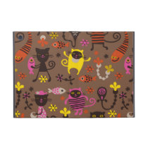 Funky cats cover for iPad mini