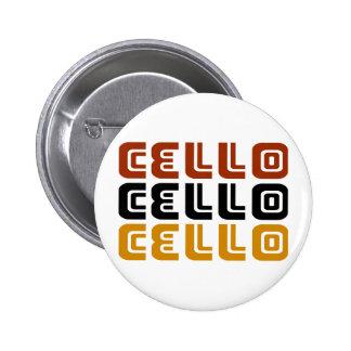 Funky Cello Trio Gift Button