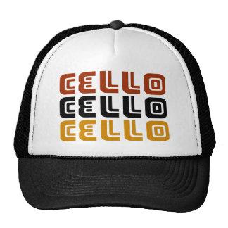 Funky Cello Trio Gift Trucker Hat