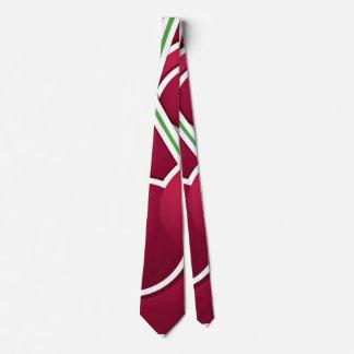 Funky cherry tie