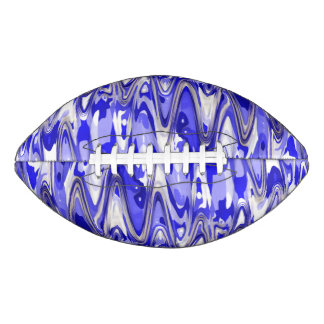 funky chevron blue (C) Football