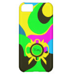 Funky Chic Colourful Abstract Iphone 5 Case