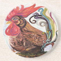 Funky Chicken Coaster