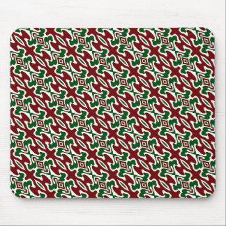 Funky Christmas Pattern 2 Mouse Pad