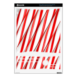 Funky Chrstmas Candy Canes Xbox 360 S Decal