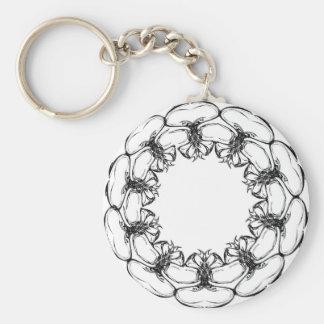 Funky Circle Keychain