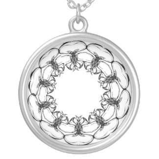 Funky Circle Necklace