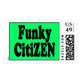 Funky CitiZEN Stamp