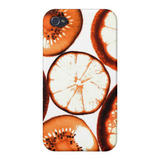 funky citrus fruit iPhone 4/4S covers