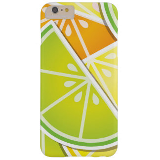 Funky citrus wedges barely there iPhone 6 plus case